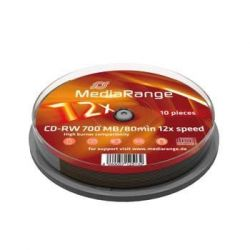 MediaRange CD-RW 12X Cake (10) /MR235/