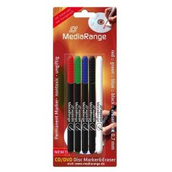 MediaRange CD DVD marker set (5) /MR704/