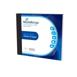 MediaRange Blu Ray BD-R DL 50GB 6x Jewel Case (1) /MR506/