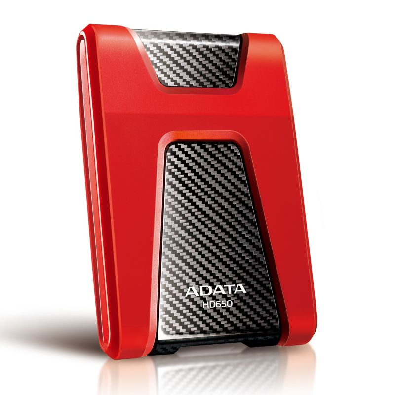 Adata HD650 DashDrive Durable 1TB ext. 2.5 HDD USB3.0 red
