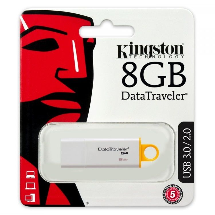 Kingston Datatraveler G4 8GB USB 3.0